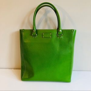 Kate Spade Wellesley Large Tote in Kelly Green